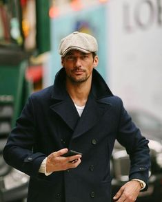Outfits Casual, Style Outfits, Mode Outfits, Mode Masculine, Coat Style For Man, David Gandy Style, Stylish Men, Men Casual, Mode Man