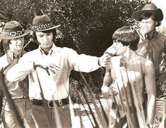 "On the set of ""Monkees Marooned"" Season 2 Episode 40, original air date Oct. 30, 1967."