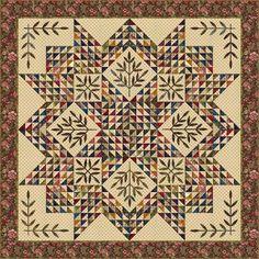 Afraid of Applique quilt post by Edyta Sitar
