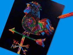 Folk-Art Weathervanes lesson plan- crayola