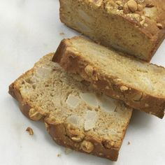 Pear-Hazelnut Quick Bread