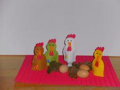 Diese Eierwärmer sind eine Freude für jedes Ei, und für jeden Frückstückstisch-ob zu Ostern oder das ganze Jahr. Sie sind aus Filz genäht.Es gibt s...