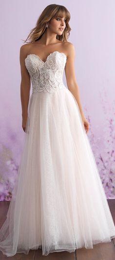 Wedding Dress by Allure Romance #weddingdress #bridalgown #bridal #bride #bridalgown #weddinggown #bridaldress