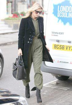 最新ミリタリースタイル  ケイト・モス(Kate Moss)