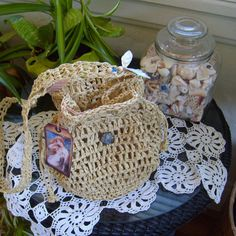 Home Arts & Crafts Just Vintage Pattern On How To Make Two Carry Baskets From.cane Raffia Repro Buy One Get One Free
