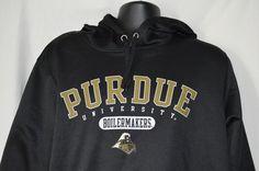 Purdue University Mens XL Black Hoodie Sportswear Boilermakers Sweatshirt #AmericanClassicSportswear #Hoodie Purdue University, Mens Xl, Hoodies, Sweatshirts, Black Hoodie, Sportswear, Sweaters, Fashion, Moda