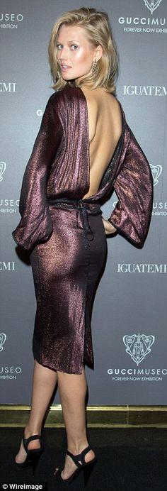 Toni Garn in Gucci