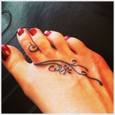 tatuajes en el pie 14