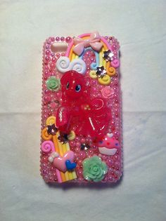 My little pony iphone 4 phone case from my shop on Etsy- Cherbearphonecases