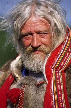 Sami man. Northern Scandinavia.