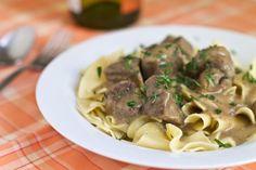 Beef Recipes :Beef Shank Stroganoff Recipe & Pasture Prime Farm Recipe
