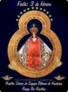 3 de febrero    celebramos el dia   de nuestra  patrona   suyapita..