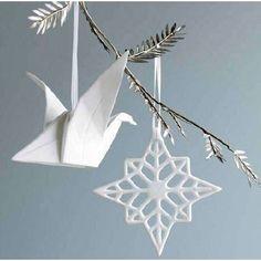 origami ornaments from viva terra