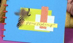 Scrapbook with Disk Binding   Sandi Genovese