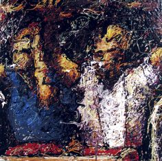 craig paul nowak memory series some of the first figurative drip paintings 2005 Drip Painting, Abstract Portrait, Jackson Pollock, Pictures To Paint, Figurative, Paintings, Canvas, Artist, Tela