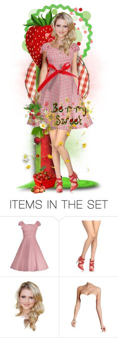 """Berry Sweet"" by tracireuer ❤ liked on Polyvore featuring art"