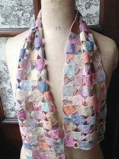 Luccello - SOPHIE DIGARD CROCHET SCARF 40