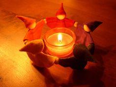 Katja's flower fairy gnomes on etsy