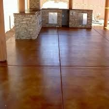 Image Result For Lying Stain To Concrete Stained Cement Floors Polished