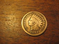 1894   INDIAN HEAD  FLYING EAGLE PENNY SMALL CENT BETTER COIN   SEE PART LIBERTY…