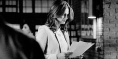 When Beckett give the look...but my god the hair swish!