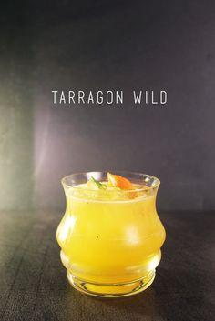 Tarragon Gin cocktail!