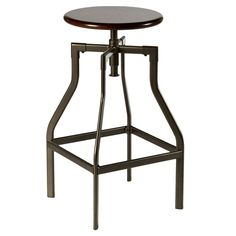 Found it at Wayfair - Cyprus Adjustable Height Swivel Bar Stool