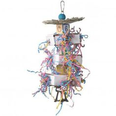 Parrot Toys with Bell