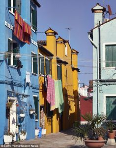 Colourful town of Burano...