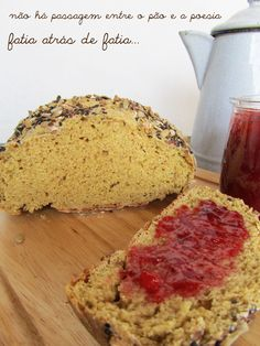 Ananás e Hortelã: Pão de Soda com Espelta e Centeio