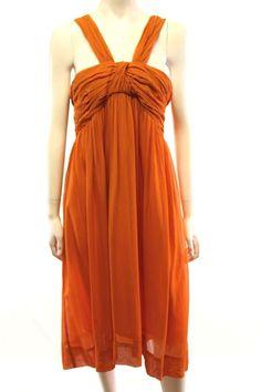 Trelise Cooper NZ Designer Ruchin Doll Jasmine Orange Silk Dress Size 16 in Clothing, Shoes, Accessories, Women's Clothing, Dresses | eBay