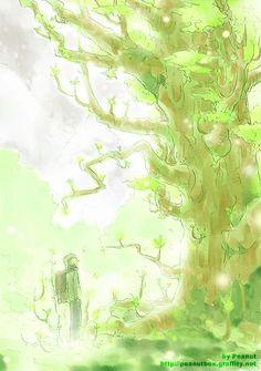 Mushishi | Artland | Yuki Urushibara / 「生き物」/「Peanut」のイラスト [pixiv]