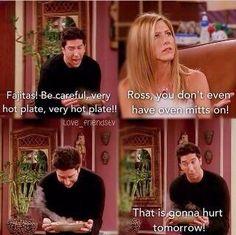 #FRIENDS - That's gonna hurt tomorrow