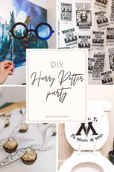 My birthday party was one for the books: namely because it was a DIY Harry Potter party! I had the best butterbeer ever, wands, potions, and more! Harry Potter Adult Party, Harry Potter Halloween Party, Harry Potter Games, Harry Potter Printables, Harry Potter Christmas, Harry Potter Birthday, Diy Harry Potter Party Decorations, Adult Birthday Party, Diy Birthday