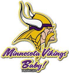 Share graphics with friends: Minnesota Vikings Football Cheerleaders, Best Football Team, Football Baby, Football Pics, Football Season, Viking Wallpaper, Viking Baby, 32 Nfl Teams, Minnesota Vikings Football