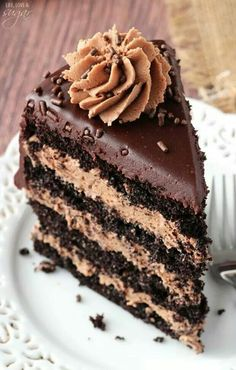 Nutella chocolate cake