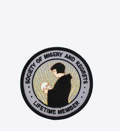 MISERY AND REGRETS PATCH - BALL & CHAIN CO.