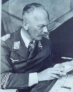 ✠ Wolfram Freiherr von Richthofen (10 October 1895 – 12 July 1945) died in captivity of a brain tumor. RK 18.05.1940 Generalmajor K.G. VIII. Flg.K.+ 17.07.1941 [26. EL] General der Flieger K.G. VIII. Flg.K.