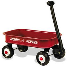 Little Red Wagon (12.5 inch mini wagon)  Great for events such as Birthday Parties and Weddings!    When buying in bulk, please keep in mind these come in boxes of 6, so your order will reach you in its entirety sooner if you order in multiples of 6.