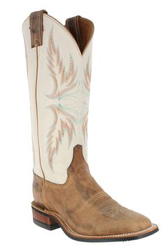 Tan Justin Cowboy Boots Square Toe I have these BUT mine are Pink at the top not tan!!!
