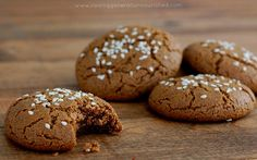 Tahini Molasses Cookies :: Grain, Nut, & Refined Sugar Free