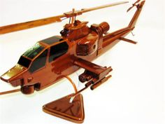 AH-1 Cobra Helicopter - Premium Wood Designs #Helicopter #Military premiumwooddesign...