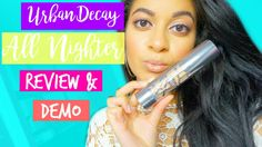 urban decay all nighter foundation review #urbandecay #makeup #cosmetics #beautyblogger #foundation