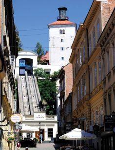 Funicular Uspinjaca, Zagreb, Croatia