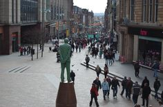 Buchanan, Street, Glasgow, Scotland.