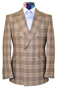 d0acd7a2c70 The Mollison Multi-Brown Check with Lavender Highlight