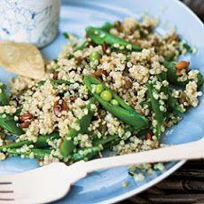 Quinoa Salad with Sugar Snap Peas