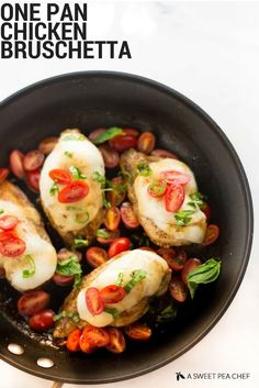 Because who doesn't love balsamic chicken slathered in melted mozzarella?Here the recipe.