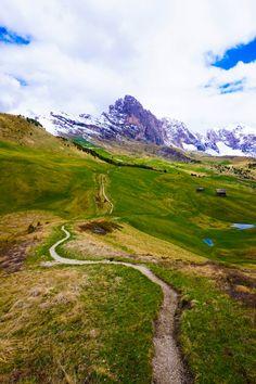Val Gardena Trail 6. Dolomites, Tirol, Italy