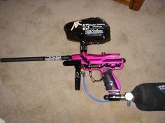 Girly Paintball Gun